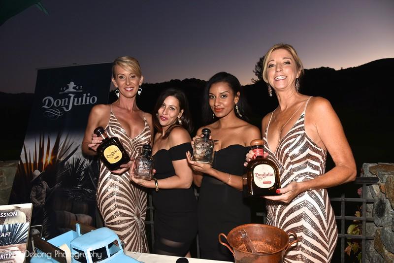 Saskia Russell, Carmelina Travali, Cynthia Henshaw and Ann Roggenbuck