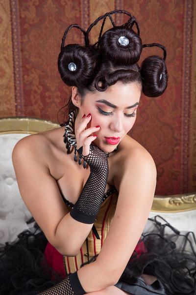 Model – Alexa Sure  MUA – Ande Castaneda Marty Wachi Photography Stylist – Laura Miranda  Wardrobe- Cheri Wilson Chagollan & Joany Herandez