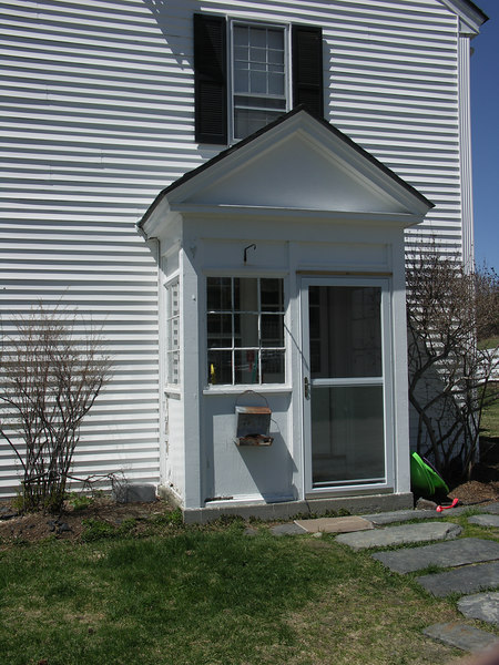 The house at Morton Farm.