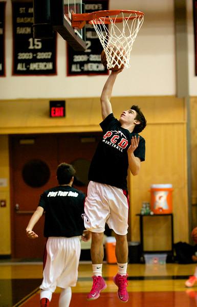 PCD Basketball V Saint Andrews