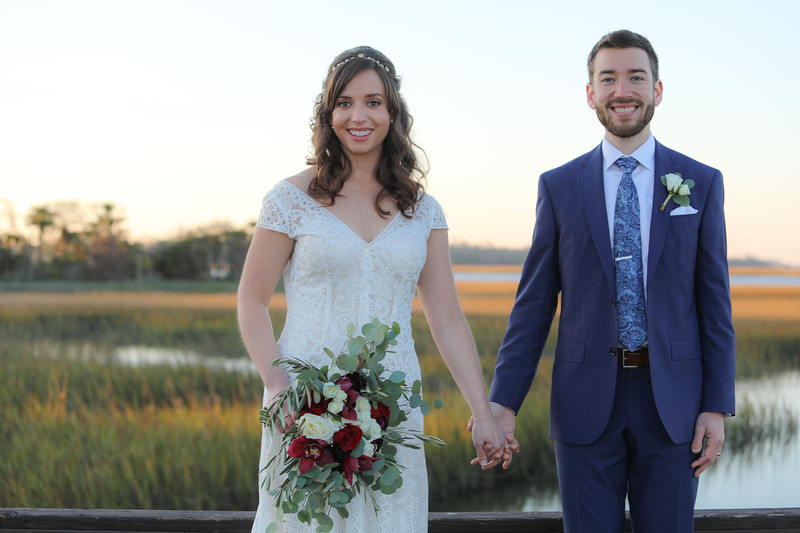 Zack and Maggie's Wedding, Oyster Bay Yacht Club, Fernandina Beach, Floirda