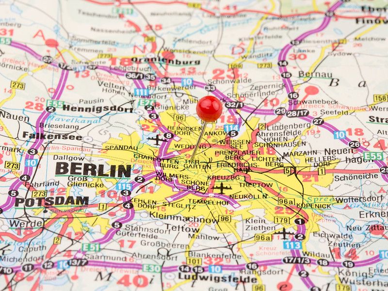 Destination Berlin Germany