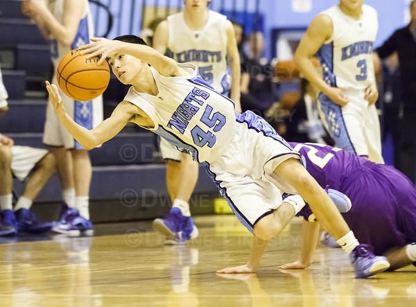 Sophomore - Rolling Meadows vs Prospect - 02-21-14