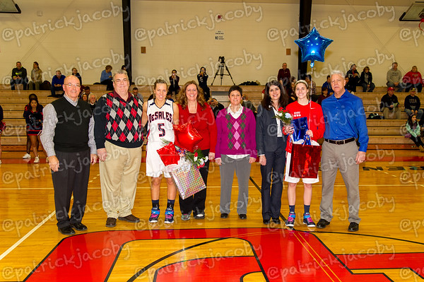 vs. Eastern 2/21 (Senior Day)