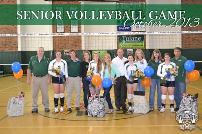 Senior Volleyball Game 2013