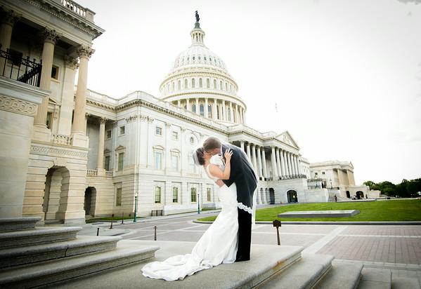 Janelle and Mitch - Washington D.C. Newseum Wedding