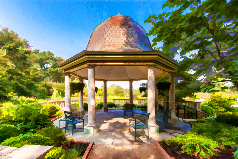 Boxwood Garden Gazebo