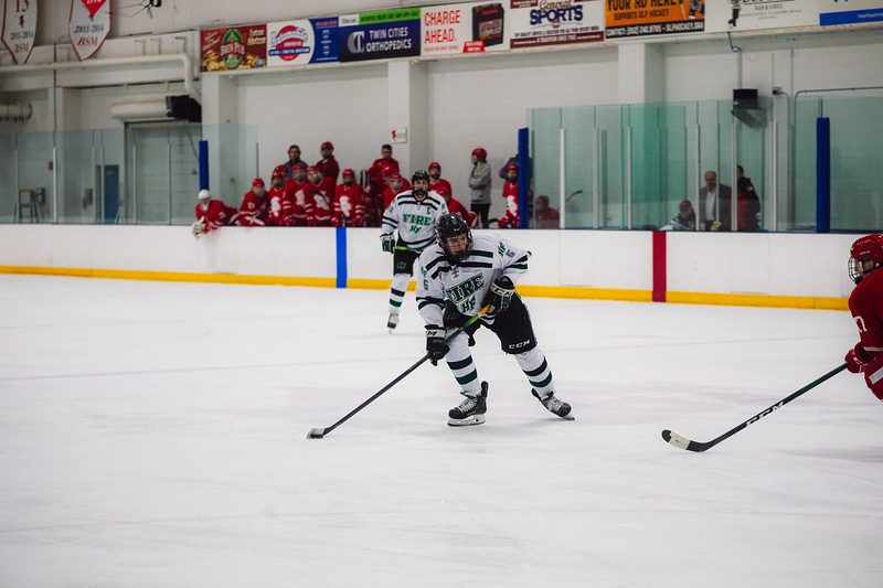 Holy Family Boys Varsity Hockey vs. Benilde-St. Margaret's, 12/26/19: Ben Reddan '21 (6)
