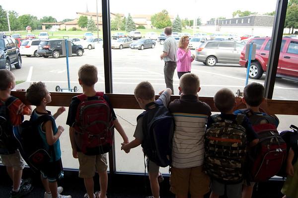 Adam & Ryan First Day of School 2009