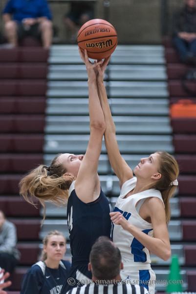 2019-20 Girls Varsity Basketball vs South Medford