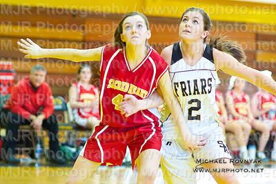 St Anthonys Vs Sacred Heart, Girls JV Basketball 01.09.11
