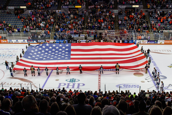 11/24/16 Komets vs. Kalamazoo (Military Weekend)