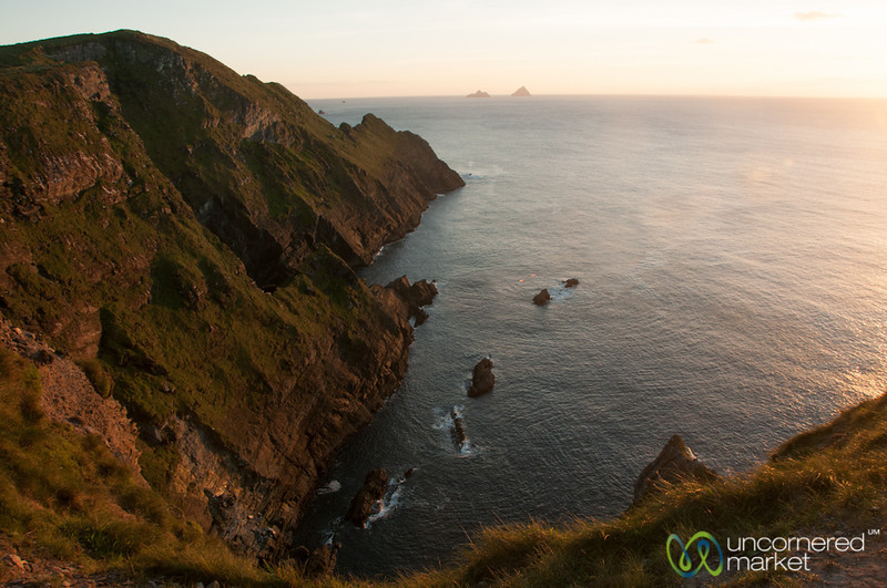 Cliffs of Kerry at Sunset - Ireland