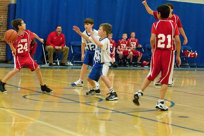 6th Grade Basketball 12-2010