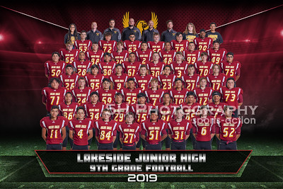 Lakeside Jr High Football- 9th Grade