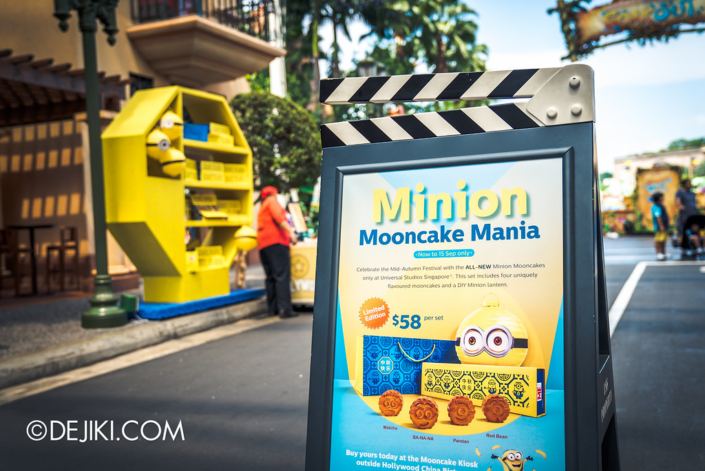 Universal Studios Singapore - Park Update September 2016 / Minion Mooncake
