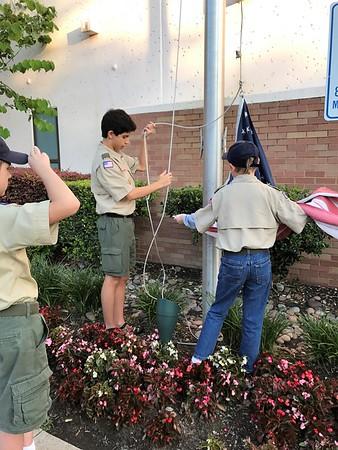 Flag Retirement Ceremony 2017