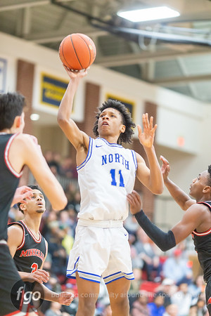 2-27-20 Minneapolis North v Minnehaha Academy Boys Basketball