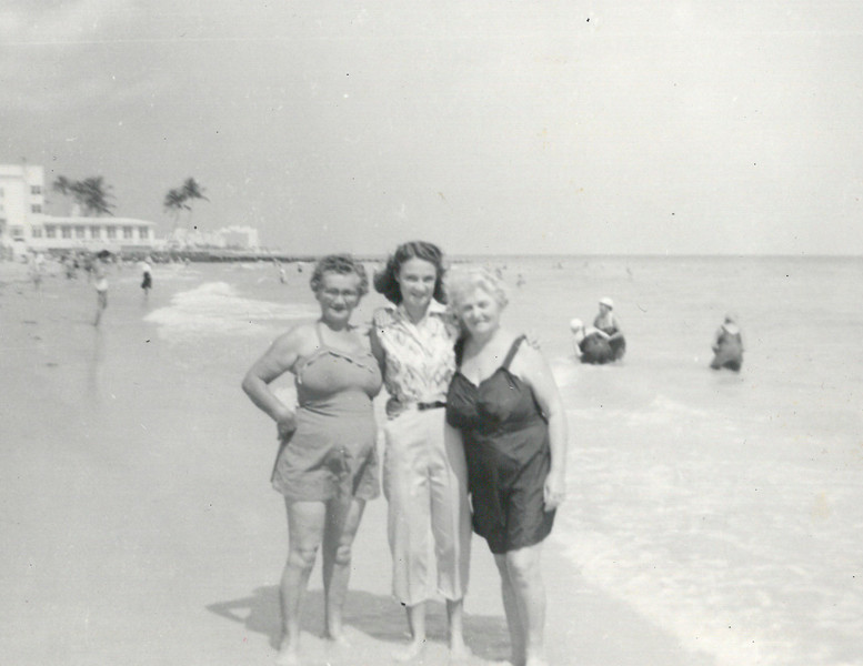 Mom and Molly Levit in Florida
