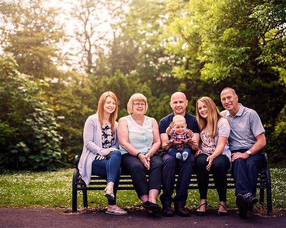 Gill Stuart Family Photographs