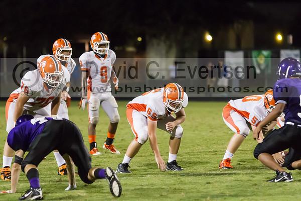 Boone Junior Varsity Football #65 - 2013