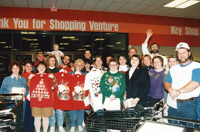 12-13-1995 CFI Truckload of Treasures Shopping @ Venture