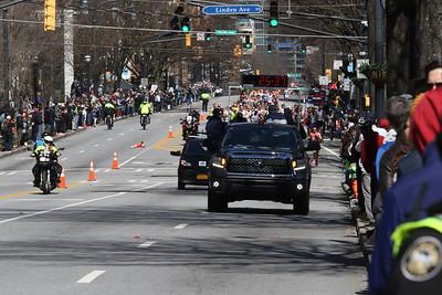 Men's 1st Loop Heading Back - 2020 U.S. Olympic Marathon Trials