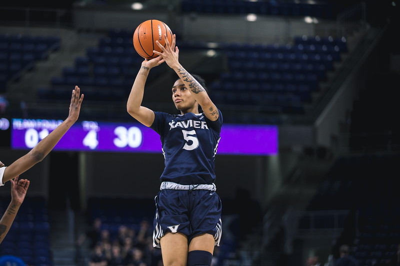 Xavier takes on Seton Hall in the Big East basketball tournament at Wintrust Arena on March 3, 2108.