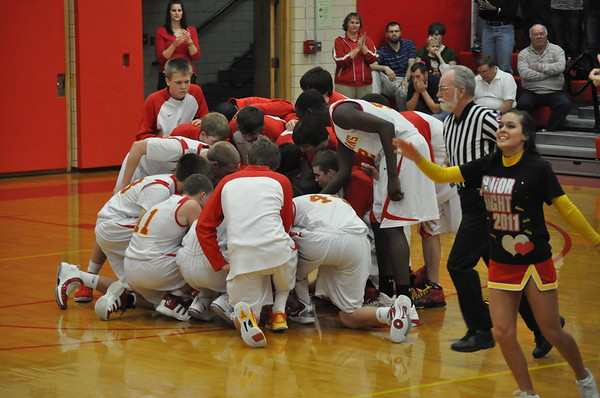 February 18, 2011 vs Effingham Sr Night