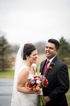 Lindsey and  Dheeraj
