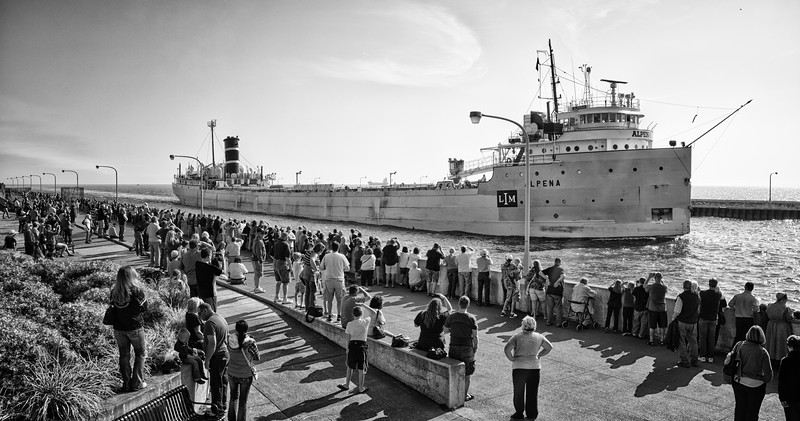 Arrival of the Alpena