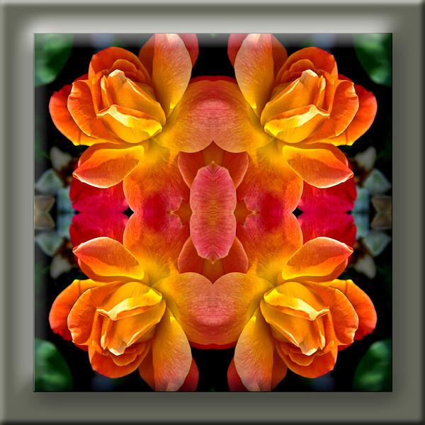 Peach Rose Kaleidoscope single tile.jpg