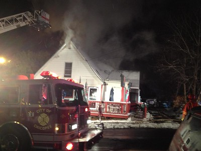 Structure Fire - Unknown Address, Chicopee, MA - 11/27/14