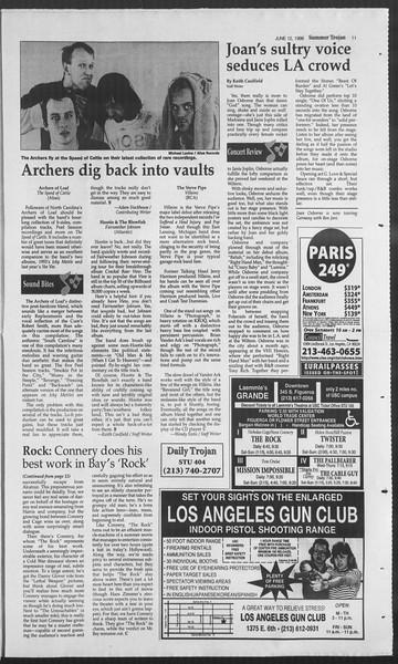 Summer Trojan, Vol. 128, No. 5, June 12, 1996