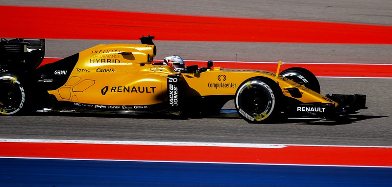 Renault Team Leader Kevin Magnussen in the #1 car.