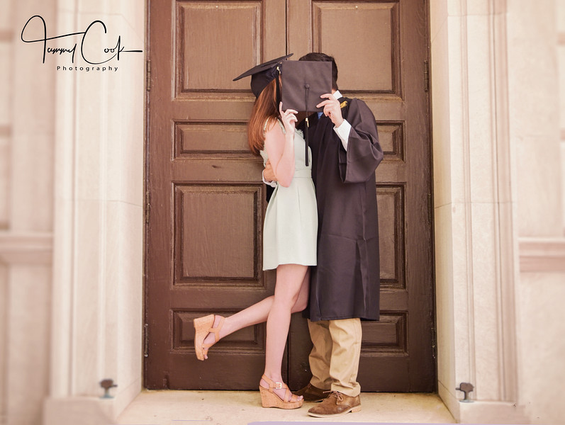 Couples graduation Portrait