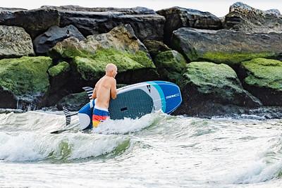 Alex, Kevin, Kelly, Jim and Matt Foiling/Suping Long Beach 8-27-20