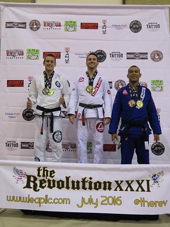 The Revolution XXXI - July 2016 - Podium Adult