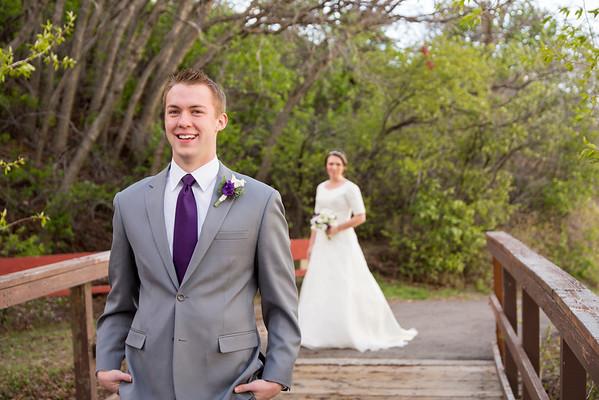 Bridals & First look At Highland Glen Park