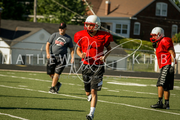 July THUD Scrimmage 2014