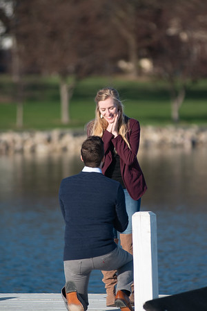 Mitch + Laken proposal