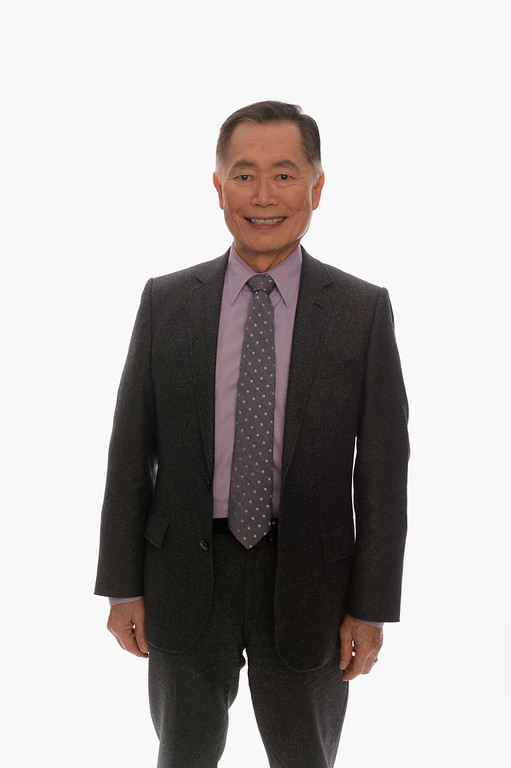 . Actor George Takei poses for a portrait in the TV Guide Portrait Studio at the 3rd Annual Streamy Awards at Hollywood Palladium on February 17, 2013 in Hollywood, California.  (Photo by Mark Davis/Getty Images for TV Guide)