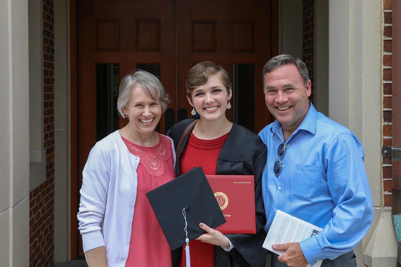 Grove City College Graduation 2017