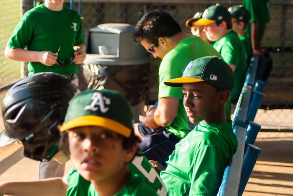 2015 youth baseball 9-10 Oakland A's
