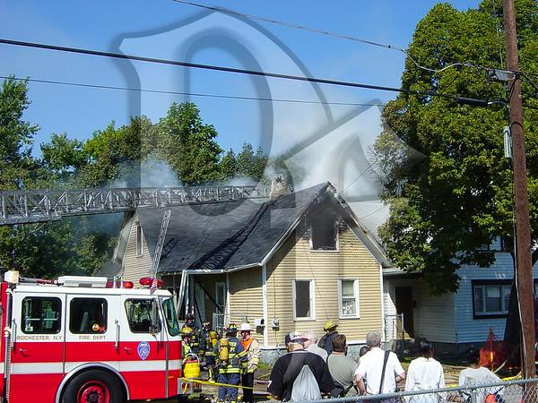 House Fire - Rochester, NY 9/9/03