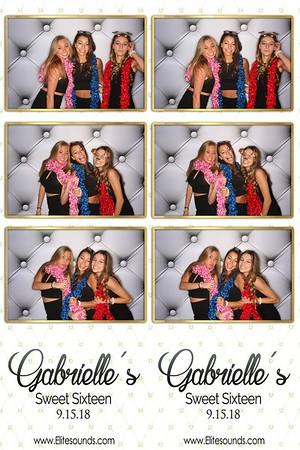 Gabrielle's Sweet 16