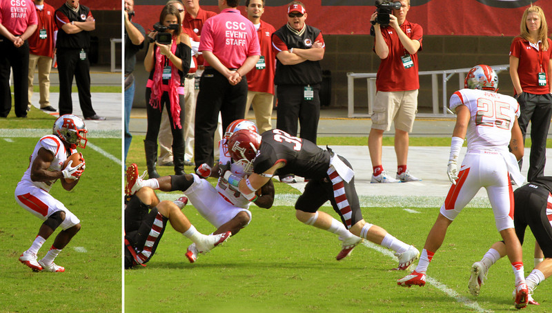 Rutgers' punt return