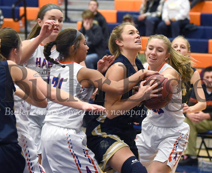 Knoch vs Armstrong  Girls basketball at the Armstrong Girls Basketball Tip-Off at Armstrong High School