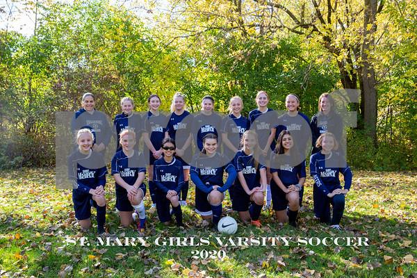 St. Mary Girls Varsity Soccer 10-24-20