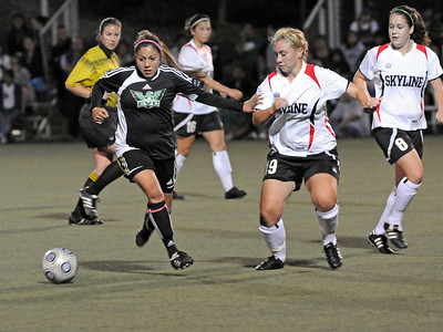 EVC vs Skyline Women 10-16-09